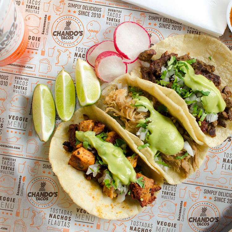 Chando's Tacos Sacramento, CA