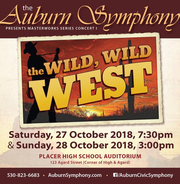 Auburn Symphony Wild Wild West