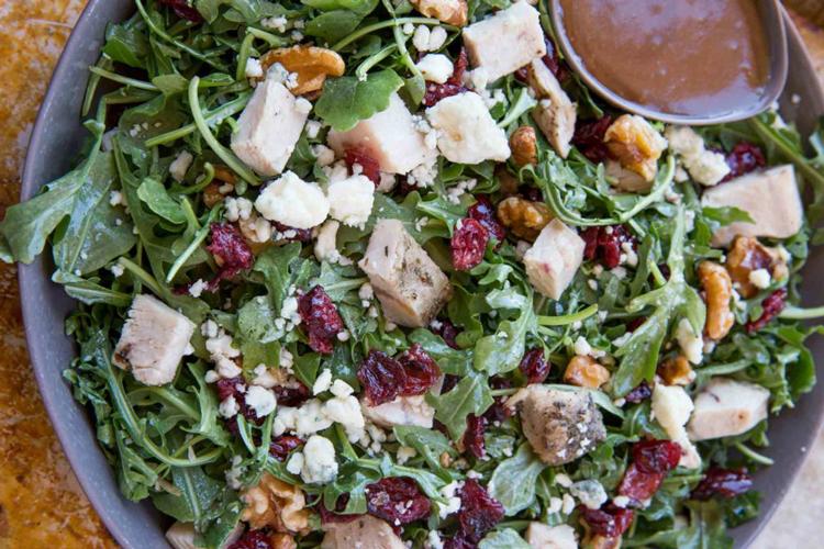Cranberry Harvest Turkey Salad | Dinner, Then Dessert