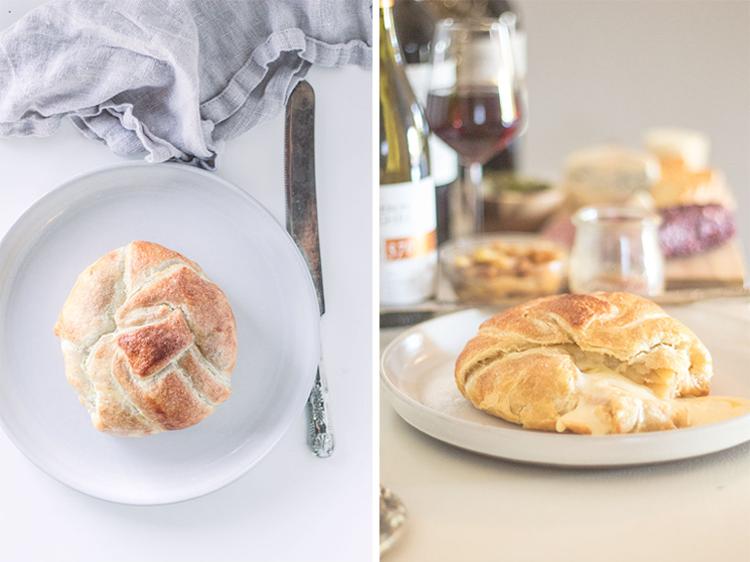 Apple Pie Baked Brie | Well Floured