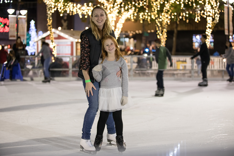 Downtown Sacramento Ice Rink