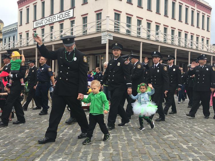 Old Sacramento St. Patrick's Day Parade
