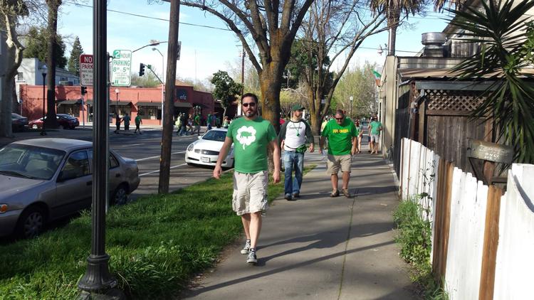 St. Paddy's Day Crawl 2019 Sacramento