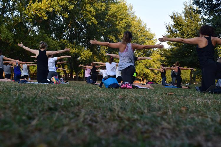 Yoga in the Park Sacramento