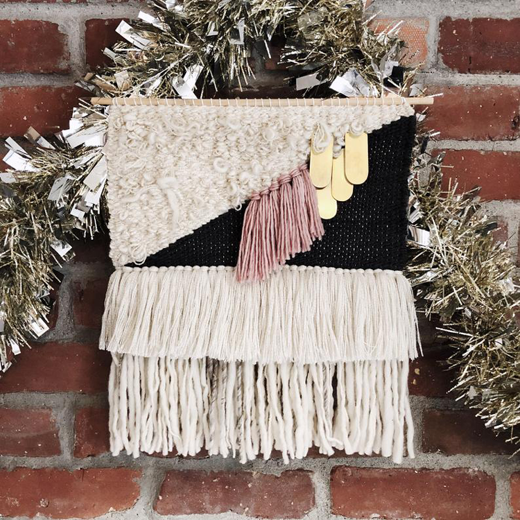 Woven Wall Hanging By The Northern Needle