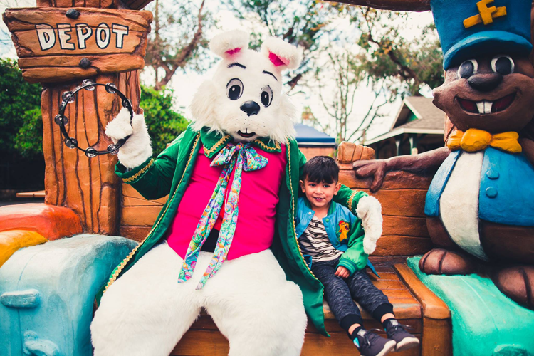 Easter Eggstravaganza at Funderland Amusement Park